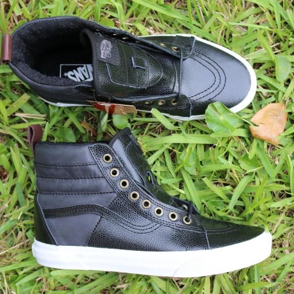 b94517c6d2 New Mens Vans black SK8-Hi MTE size 8.5